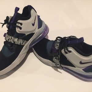 Nike Shoes - Nike Air Force 270 Carnivore Teal Black Purple